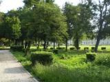 Park skrášlia fontány